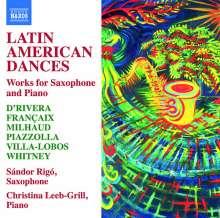 Latin American Dances für Saxophon & Klavier, CD