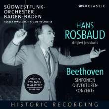 Ludwig van Beethoven (1770-1827): Hans Rosbaud dirigiert Beethoven, 7 CDs