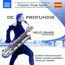 Xelo Giner - De Profundis, CD