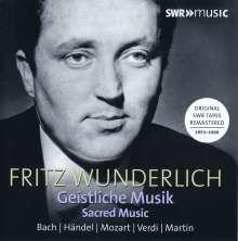 Fritz Wunderlich - Geistliche Musik, 7 CDs