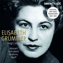Elisabeth Grümmer singt Mozart,Schubert,Brahms,Wolf, CD