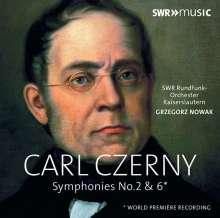 Carl Czerny (1791-1857): Symphonien Nr.2 D-Dur op.781 Nr.6 g-moll, CD