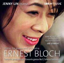 Ernest Bloch (1880-1959): Concerto Symphonique für Klavier & Orchester, CD
