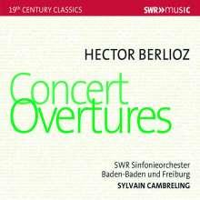 Hector Berlioz (1803-1869): Ouvertüren, CD