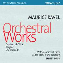 Maurice Ravel (1875-1937): Le Tombeau de Couperin, CD