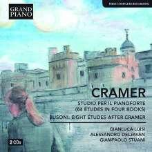Johann Baptist Cramer (1771-1858): Etüden für Klavier Heft 1 & 2, 2 CDs