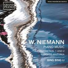 Walter Niemann (1876-1953): Klaviersonaten Nr.1 & 2, CD