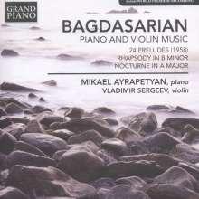 Eduard Bagdasarian (1922-1987): Preludes Nr.1-24, CD