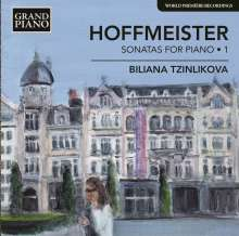 Franz Anton Hoffmeister (1754-1812): Klaviersonaten Vol.1, CD