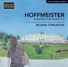 Franz Anton Hoffmeister (1754-1812): Klaviersonaten Vol.2, CD