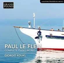 Paul Le Flem (1881-1984): Sämtliche Klavierwerke, CD