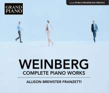 Mieczyslaw Weinberg (1919-1996): Sämtliche Klavierwerke, 4 CDs