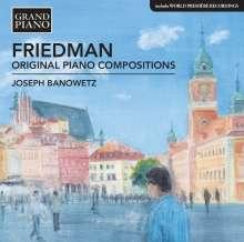 "Ignaz Friedman (1882-1948): Klavierwerke ""Original Piano Compositions"", CD"