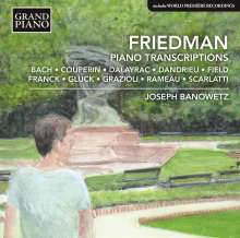 Ignaz Friedman (1882-1948): Transkriptionen für Klavier, CD