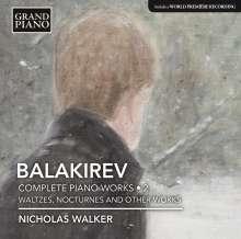 Mily Balakireff (1837-1910): Sämtliche Klavierwerke Vol.2, CD