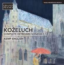 Leopold Kozeluch (1747-1818): Sämtliche Sonaten für Tasteninstrumente Vol.12, CD