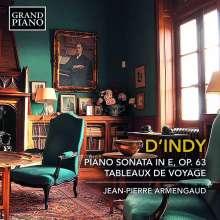 Vincent d'Indy (1851-1931): Klaviersonate op.63, CD