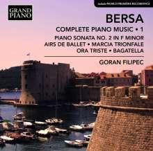 Blagoje Bersa (1873-1934): Klaviewerke Vol.1, CD