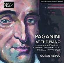 Goran Filipec - Paganini At The Piano, CD