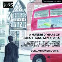 A Hundred Years of British Piano Miniatures, CD