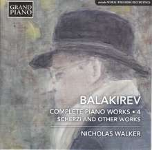 Mily Balakireff (1837-1910): Sämtliche Klavierwerke Vol.4, CD