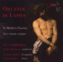 Orlando di Lasso (Lassus) (1532-1594): Matthäus-Passion, CD