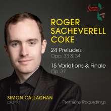 Roger Sacheverell Coke (1912-1972): Preludes opp.33 & 34, CD