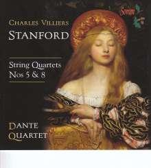 Charles Villiers Stanford (1852-1924): Streichquartette Nr.5 & 8, CD