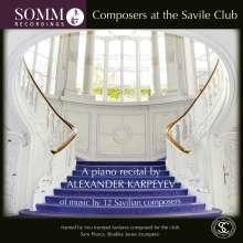 Alexander Karpeyev - Composers at the Savile Club, CD