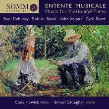 John Ireland (1879-1962): Violinsonate Nr.1 d-moll, CD