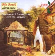 Bela Bartok (1881-1945): Chorwerke, CD