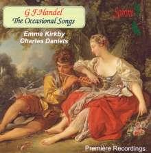 Georg Friedrich Händel (1685-1759): The Occasional Songs, CD