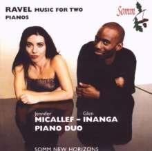 Maurice Ravel (1875-1937): Werke für 2 Klaviere, CD