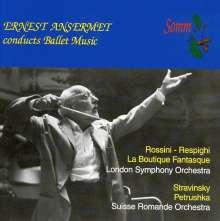 Ernest Ansermet dirigiert Ballettmusik, CD