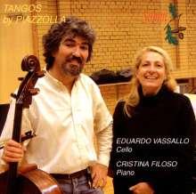 Astor Piazzolla (1921-1992): Tangos für Cello & Klavier, CD