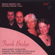 Frank Bridge (1879-1941): Klavierquintett, CD
