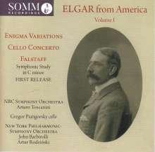 Edward Elgar (1857-1934): Elgar from America Vol.1, CD