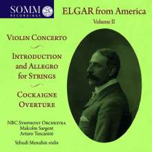 Edward Elgar (1857-1934): Elgar from America Vol.2, CD