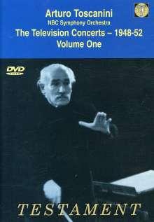 Arturo Toscanini - The Television Concerts 1948-52 Vol.1, DVD