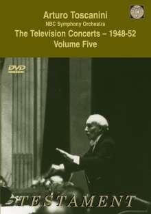 Arturo Toscanini - The Television Concerts 1948-52 Vol.5, DVD