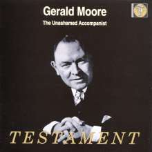 Gerald Moore - The Unashamed Accompanist, CD