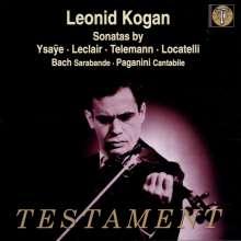 Leonid Kogan spielt Violinsonaten, CD