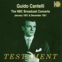 Guido Cantelli - The NBC Broadcast Concerts 1951, 4 CDs