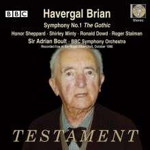 "Havergal Brian (1876-1972): Symphonie Nr.1 ""The Gothic"", 2 CDs"