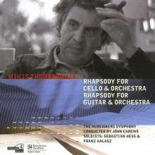 Mikis Theodorakis (geb. 1925): Rhapsody für Cello & Orchester, CD