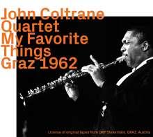 John Coltrane (1926-1967): My Favorite Things: Graz 1962, CD