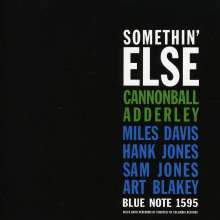 Cannonball Adderley (1928-1975): Somethin' Else, Super Audio CD