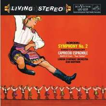 Alexander Borodin (1833-1887): Symphonie Nr.2 (200g), LP