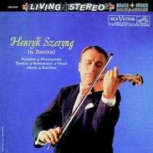 Henryk Szeryng in Recital (200 g / 33rpm), LP