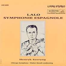 Edouard Lalo (1823-1892): Symphonie espagnole für Violine & Orchester op.21 (200g), LP